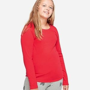 Justice | Girls Solid Long Sleeve Tee